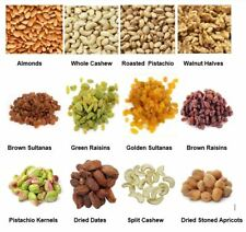 Dry Fruits  & Nuts -  Almonds, Sultanas, Cashew, Pistachios, Apricots, Walnuts