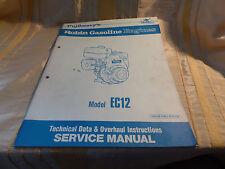 Original Werkstatthandbuch in englischer Sprache zu Robin Benzinmotoren EC 12