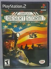 N) Conflict: Desert Storm (Sony PlayStation 2, 2002) Video Game