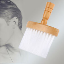 Neck Body Duster Brush Nylon Hairbrush  Hair Cleaner Wood Handle Pro Set Salon