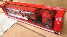NEW RAY IVECO STRALIS DUCATI CORSE CAMION autoarticolato 1/43 tir truck camiòn