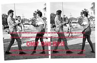 "ELVIS PRESLEY 1962 8x10 Photo LOT of (2) ""FOLLOW THAT DREAM"" KARATE PRACTICE"