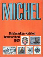 Michel Briefmarken Katalog Deutschland 1985