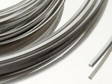 "Fine Pure Platinum Square Wire 99.95% 6.0mm Square x 10"" Free UK Mail"