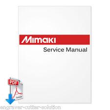 MIMAKI JV3-130S, JV3-160S Service Manual -PDF File