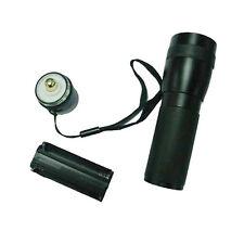 New Outdoor Mini Lanshi Super Bright LED Flashlight Hand Torch 20W Black New S5