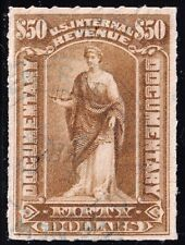 US STAMP BOB REVENUE #R178 $50 1898 Documentary Revenue Used Stamp