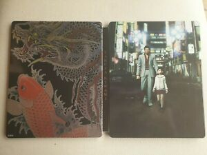 Yakuza kiwami 1 steelbook edition collector metal case 🇦🇺 NO GAME INCLUDED