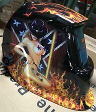 Hg New Solar Auto Darkening Welding Helmet Arc Tig Mig Certified Mask Grinding