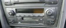 Audi A4 8E Radio Audi CD + Kasette Original symphony 2 8E0057195M m. Code