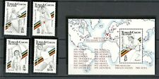 Turks and Caicos Islands.1991. Summer Olympic games  Barcelona'92.MNH.Mi964-968
