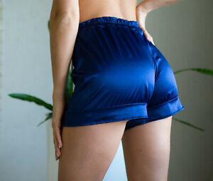 Elastic Silk Shorts, Satin Panties, Sissy panties, Silk Panties, Silk clother