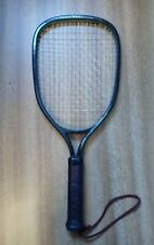 New listing Vintage Wilson Champion Racquetball Racquet - 3 7/8th Grip - Brown -Leather Grip
