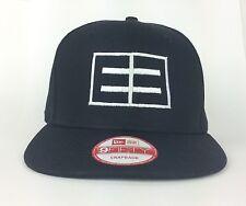 EMBLEM3 E3 Black Baseball Cap Hat New Era 9FYFTY Snapback Cotton Reggae Pop Band