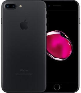 APPLE IPHONE 7 PLUS 32 GB Black Nero Opaco Grado A/B Usato Ricondizionato
