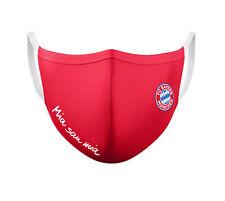 FC Bayern München FCB Maske, Gesichtsmaske, Mund-Nasen-Schutz ROT, 26656