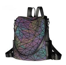 Fashion BaoBao Bao Bao Women Backpack Chameleon Geometry Sac Ladies Backpack