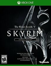 NEW Elder Scrolls V: Skyrim -- Special Edition (Microsoft Xbox One, 2016)