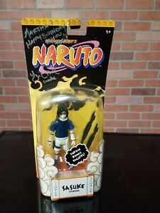 Yuri Lowenth Signed Naruto Sasuke Figure With Daggers! Sealed! SIGNED by Actor!