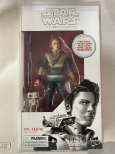 Hasbro Star Wars The Black Series First Edition Cal Kestis Toy 6-inch W/CASE