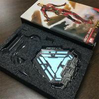 Marvel Iron Man Arc Reactor Chest Light Model Alloy LED Light Model Gifts Boxed