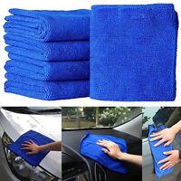 10 Grande Microfibra Limpieza Auto Coche Detalle Suave paños de lavado toa_ws