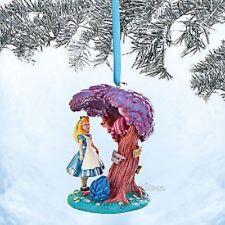 Disney Store Alice In Wonderland Cheshire Cat Sketchbook sketchbook Ornament NIB
