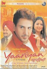 YAARIYAN - GURDAS MAAN - BHUMIKA CHAWLA - NEW BOLLYWOOD DVD - FREE UK POST