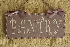 BELLA decorativa realizzata a mano marrone/panna Porta Firmare DISPENSA