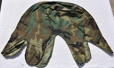 Vintage ERDL Highland Woodland Camouflage Cloth M1 Steel Pot Helmet Cover Old