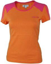 T-shirt, maglie e camicie da donna arancione adidas in cotone