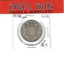 1938 50 CENT GRADED F $17.00 #G25