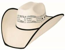 New RODEO SCENE 20X Bangora Straw Western Rodeo Cowboy Hat Bullhide Montecarlo
