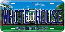 White House Washington DC Novelty Car License Plate