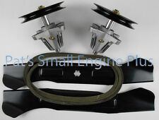 "Cub Cadet 46"" Lawn Mower Deck Spindle, Hi Lift Blade, Belt kit, LTX1045, LTX1046"