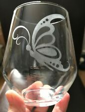 Personalised Glass Butterfly Stemmed/Stemless **CHECK INFORMATION**