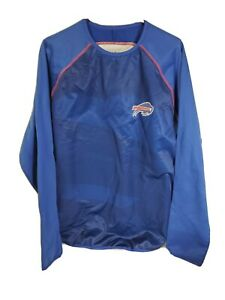 Buffalo Bills NFL Majestic Blue Pullover