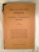 Simon van der Stel's Journal Namaqualand - Waterhouse, Trinity Dublin 1932 in DW