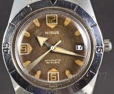 NISUS automatic Felsa 692 vintage universal diver plongee scuba plongeur