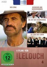 Claude Lelouch - Cinéma Classique - Box 4 # 4 DVD Box