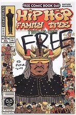 Hip Hop Family Tree Two-In-One 2014 Free Comic Book FCBD Fantagraphics AUTOGRAPH