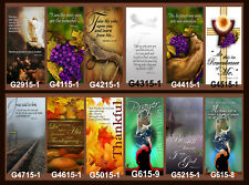 "Inspirational Christian Church Banners 24"" x 60"" (PICK-ANY-ONE)"