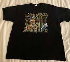 New listing Iron Maiden Vintage Shirt Somewhere Back in Time World Tour