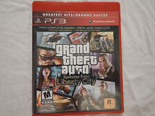 Grand Theft Auto: Episodes from Liberty City Sony PS3 (Greatest Hits)