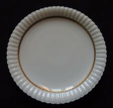 Good Antique Porcelain B&C Bernardaud Limoges Porcelain Gadroon Mounted Plate 1