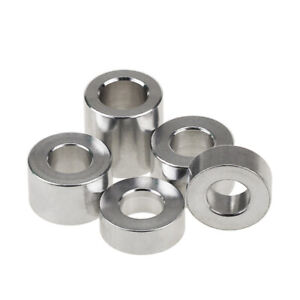 M3 Aluminum Alloy Threaded Spacers Color Round Washer Sleeve Length 2mm - 15mm