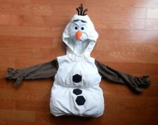 Disney Collection One Piece Hooded Olaf Costume Size 4 PADDED