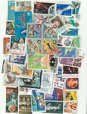 SPACE 50 DIFFERENT STAMPS