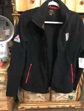 $298 New POLO RALPH LAUREN Racing Polo Alpine Fleece Jacket SZ Lg. Black. NWT's