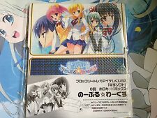 Card Storage Box Collection Noble Works Broccoli Kuji SP Anime Weiss Vanguard